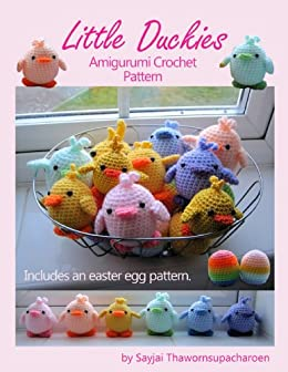 Amazon Com Little Duckies Amigurumi Crochet Pattern Easy Crochet
