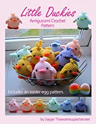 Little Duckies Amigurumi Crochet Pattern (Easy Crochet Doll Patterns Book 9)