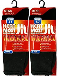 2 Pairs Mens Heat Thick Insulated Extreme Boot Winter Thermal Socks 10-13