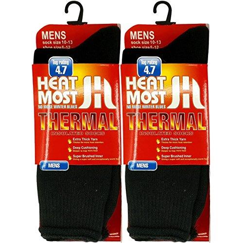 Thermal Sock Men Women 6 Pair Heated Socks Boot Sock For Extreme Temperatures By DEBRA WEITZNER