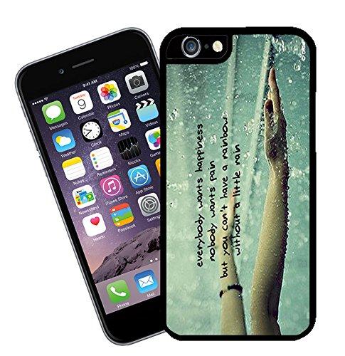 Zitate und inspirierende Worte 010 Telefon Etui - passen diese Abdeckung Apple Modell iPhone 6 (nicht 6 plus) - von Eclipse-Geschenk-Ideen