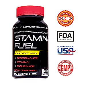 Stamina Fuel - Performance Booster Maximize Physical Endurance now with Muira Puama, Cayenne and Goat Weed Formula to boost Stamina, Test levels, Size, Energy and More 90 Caps natural male enchantment - 51DCfo lQLL - natural male enchantment