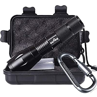 Tactical Portable LED Flashlight with 5 Modes
