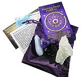 Virgo Healing Stone Zodiac Kit with Azeztulite
