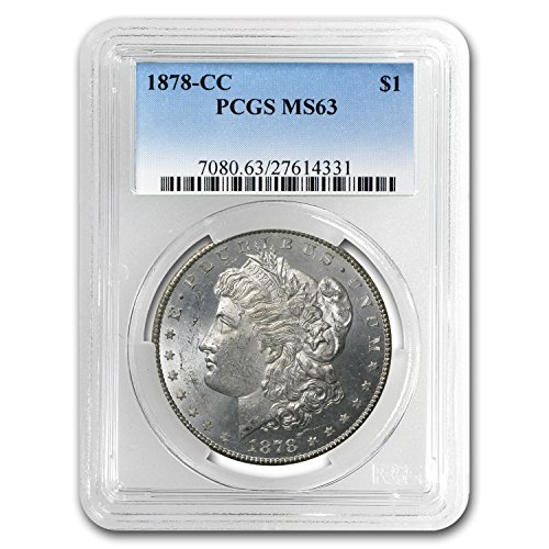 (1878 CC Morgan Dollar MS-63 PCGS $1 MS-63 PCGS)