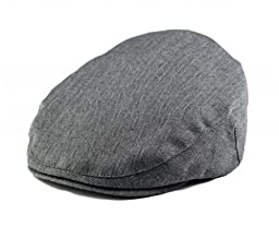 Born To Love Grey Herringbone Driver Page Boy Cap-Xxs