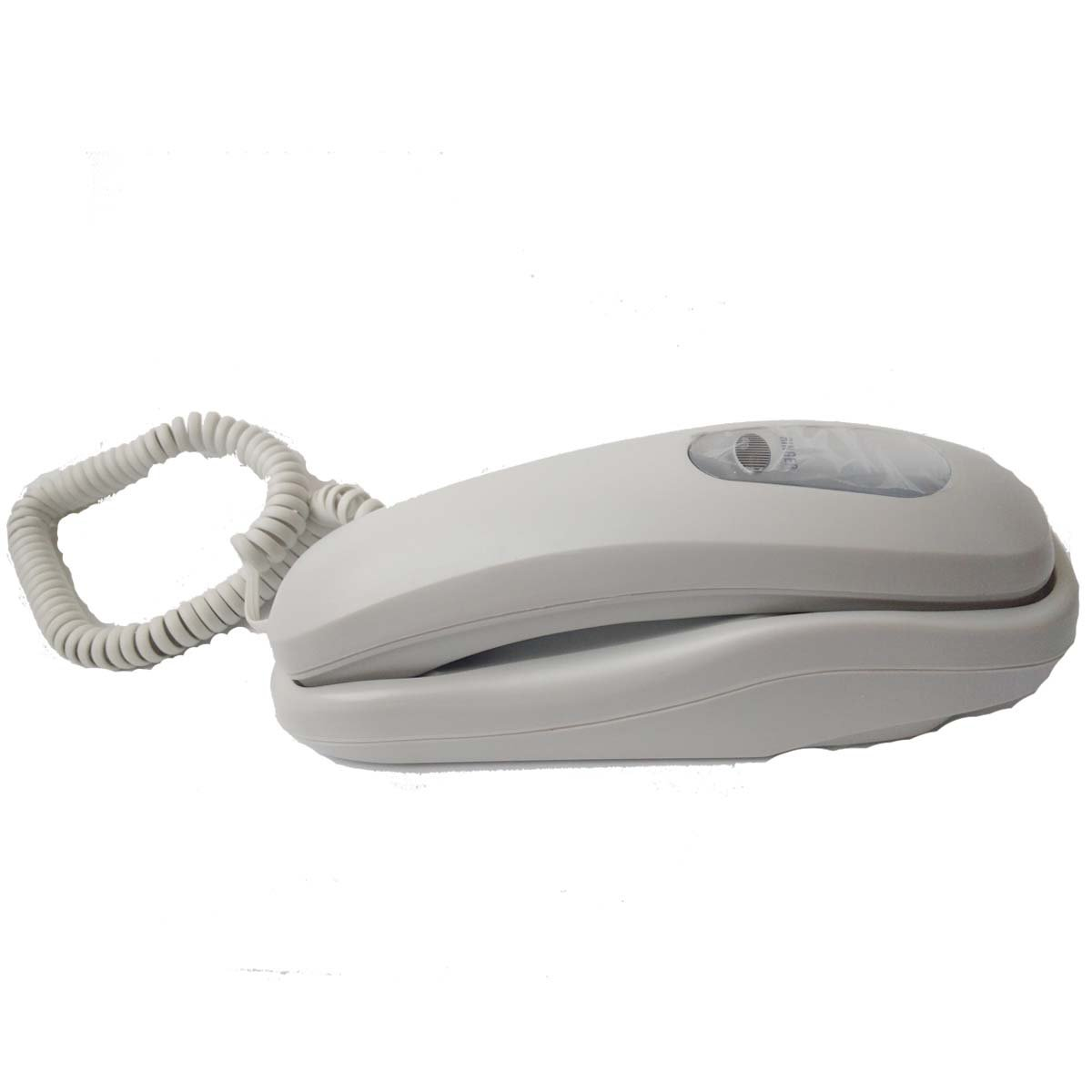 HePesTer P-012 Trimline Corded Phone with Speed Dial Memory Home Office Slimline Telephone Wall Mountable