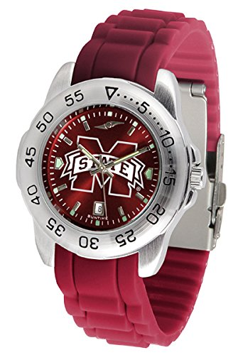 (Mississippi State Bulldogs Sport Silicone Men's Watch)