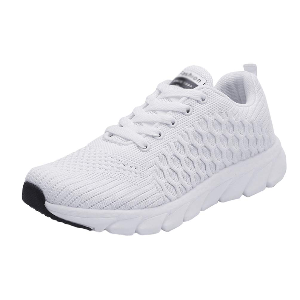 Heheja Damen Laufschuhe Sneaker Straßenlaufschuhe Sportschuhe Turnschuhe Outdoor Leichtgewichts Freizeit Atmungsaktive Fitness Schuhe