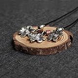 Taniya Produced Thai Silver Ornaments Daisy Casual Cotton Clothing Accessories