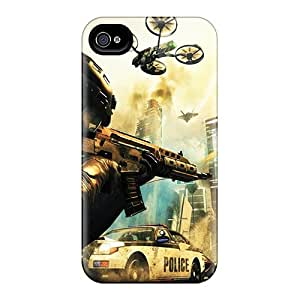 Top Quality Case Cover For Iphone 4/4s Case With Nice Call Of Duty Black Ops 2 Ii Game Appearance