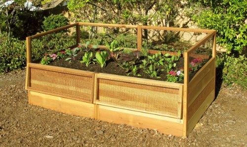 ... 3x6 Rabbit Proof Raised Garden Kit
