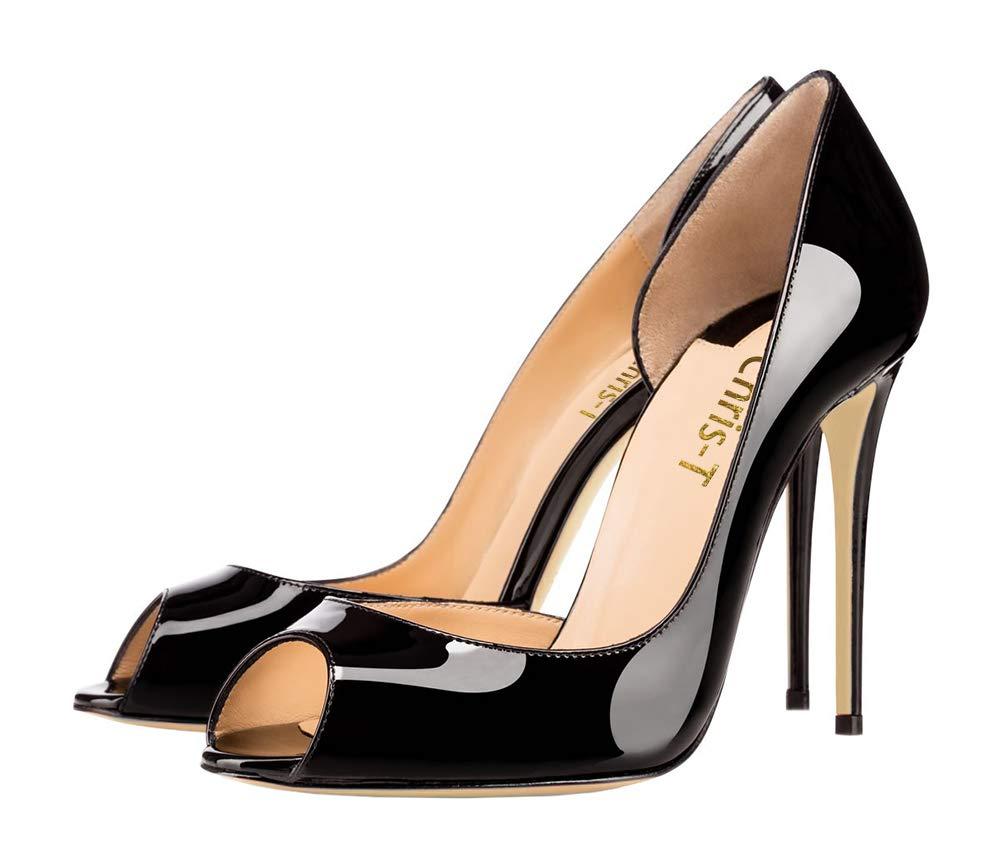 Chris-T Taille Femmes R0uge Mode Peep Toe avec Orteil des Talons Hauts Stiletto Robe De Pompes Taille 35-45 EU Orteil Noir/ R0uge S0le-peep 6fadfc1 - piero.space