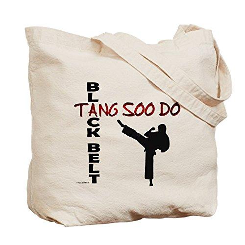 CafePress–Tang Soo Do cinturón negro 2–Gamuza de bolsa de lona bolsa, bolsa de la compra