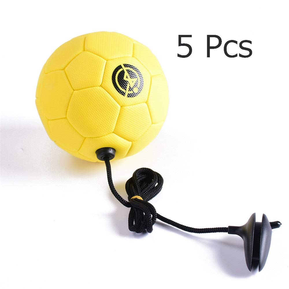 Ybriefbag-Balls PVC Children Primary School Outdoor Sport Practice Football Toddler Soccer Toys Official Size 2 Football Toy with Rope for 3-6 Years Old Game Soccer Toy (Color : C3, Size : 2) by Ybriefbag-Balls