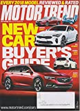 Motor Trend September 2017 New Car Buyer's Guide - Every 2018 Model Reviewed & Rated