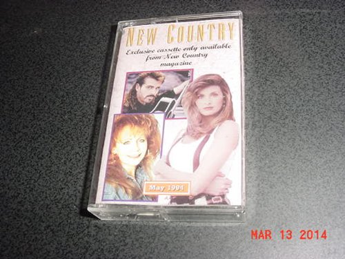 audio-music-cassette-tape-of-new-country-magazine-may-1994-with-ron-woodruff-reba-mcentire-boy-howdy