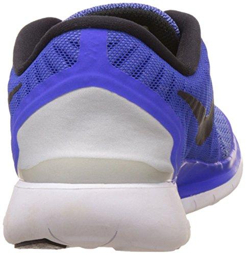 Nike Kvindernes Fri 5,0 Racer Blå Sort Kridt Blå Hvid 724.383 Til 401 (7)