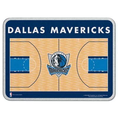 Dallas Mavericks Block - WinCraft NBA Dallas Mavericks Glass Cutting Board, 11