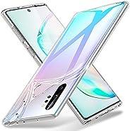 ESR Essential Zero compatível com a capa Galaxy Note 10 Plus, feita com TPU fino, transparente e macio, capa d