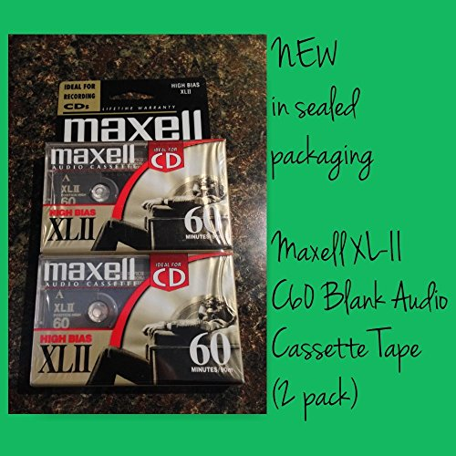 Maxell XL II Cassette Discontinued Manufacturer product image