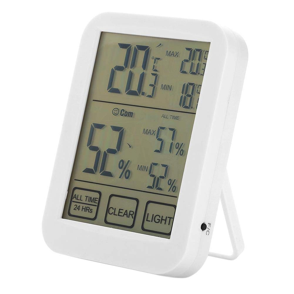Mikolot Digital Thermometer Hygrometer Electronic LCD Temperature Humidity Meter