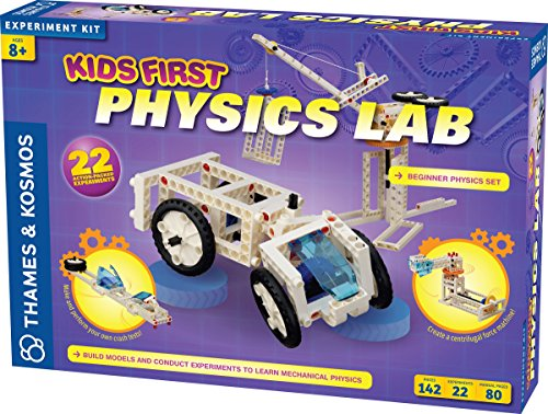 Kids First Engineering Design Physics Lab Science Kit | Parents' Choice Gold Award Winner | Toy of The Year Award Finalist | STEM - Award Choice Gold Parents