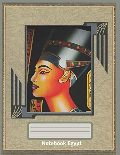 Notebook Egypt: Lined Pages for a Large Blank Notebook with College Ruled Lines and a Soft Cover Paperback (Fashion Series)]()
