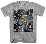 Darth Vader Luke Skywalker I Am Your Father Comic Strip Mens Adult Graphic Tee T-Shirt Apparel (Medium)