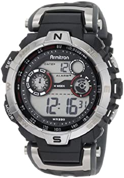 Armitron Sport Men's 44mm Chronograph Digital Watch