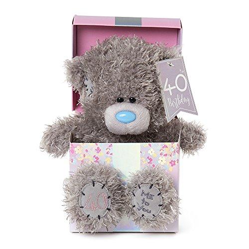 Me To You 40th Birthday Tatty Teddy Bear in Box
