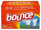 Bounce Fabric Softener Sheets, Outdoor Fresh, 240 Count (2 Pack(240 Count))