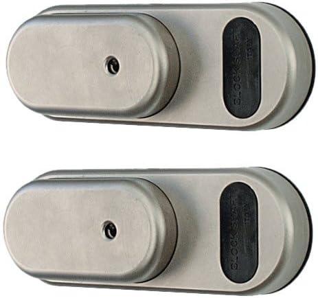 antivol pour v/éhicule utilitaire de taille moyenne Cl/é unique Gatelock Van GVM G4MB2 Lot de 2 cadenas de s/écurit/é