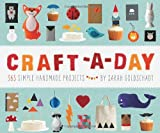 Make something new every day of the year! Craft-a-Day offers daily inspiration along with weekly themes to kick-start your creativity. Make magnets, cupcake toppers, garlands, cards, wall art, finger puppets, and more! With 52 different theme...