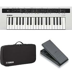 Yamaha reface cs synthesizer with padded case for Yamaha reface hard case