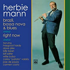 2 LPs on 1 CD 24 BIT DIGITALLY REMASTERED STEREO This gentle and warm blend of jazz and bossa nova was inspired by flautist Herbie Mann's 1961 Brazilian tour. A well-chosen, simpatico group invests these attractive compositions with warmth wh...