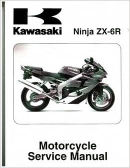 99924-1417-02 2009-2010 Kawasaki ZX600R Ninja ZX-6R Service ...