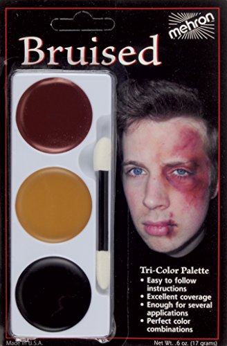 Mehron Tri-Color Palette Carded Bruise Make Up Kit]()