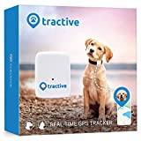 Tractive Dog GPS Tracker -Lightweight and waterproof dog tracking device with unlimited range