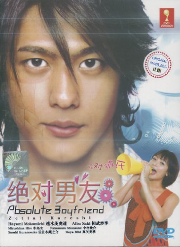 Absolute Boyfriend /Zettai Kareshi Japanese Tv Drama Dvd English Sub Digipak Boxset