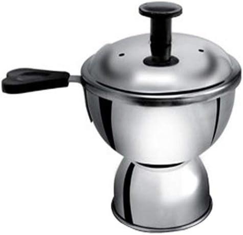 Anantha Stainless steel Chiratta puttu maker,steamer,0.2 Litre