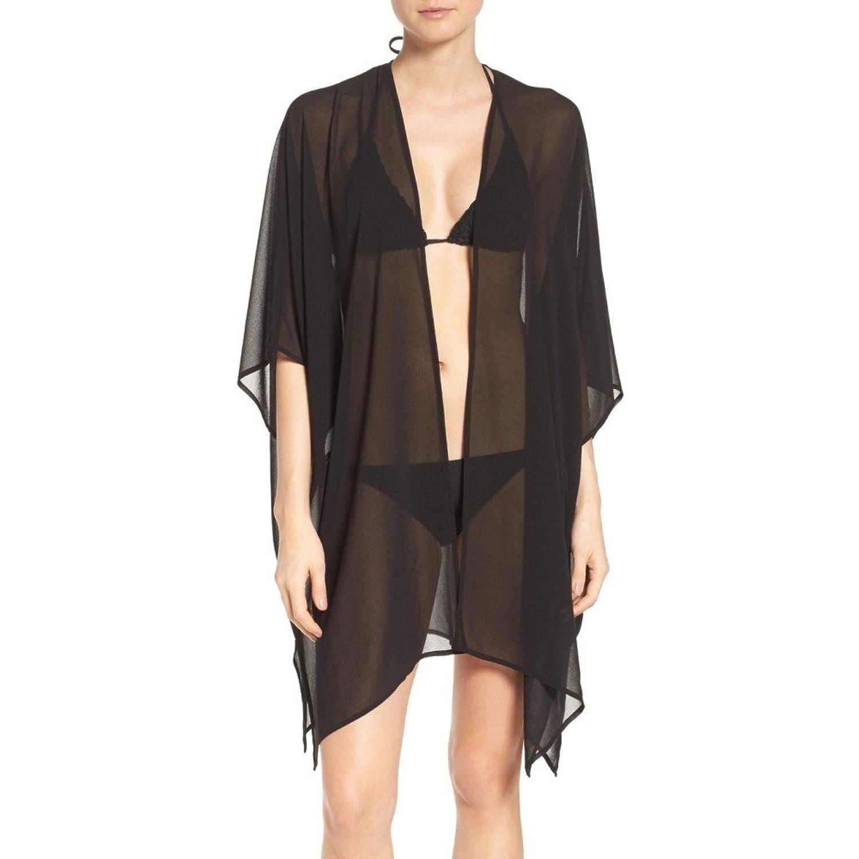 (ノードストローム) NORDSTROM レディース 水着ビーチウェア ビーチウェア Chiffon Cover-Up Kimono [並行輸入品] B079KYT5C1