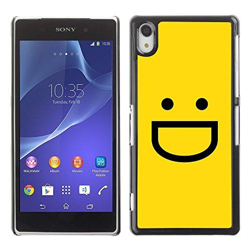 Ziland / Slim Design Case Cover Shel / Emoticon Emoji / Sony Xperia Z2 D6502 D6503 D6543 L50t L50u