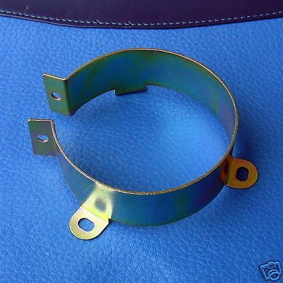 Electronics-Salon 2pcs Iron Clamp Holder For 64mm 2.5 inch Capacitors