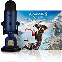 Blue Yeti USB Multi-Pattern USB Microphone (Midnight Blue) + Assassin's Creed Odyssey