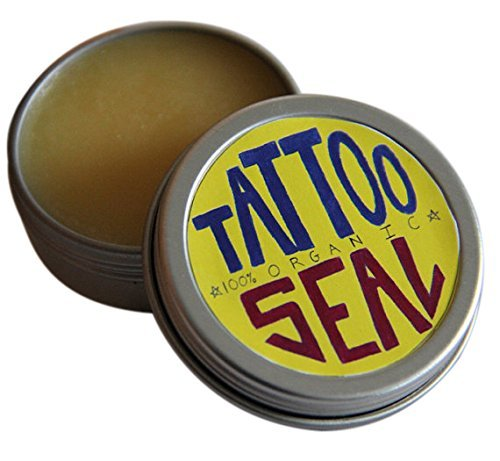 Tattoo Seal - Organic Tattoo Salve - 1oz by Lamar Soap company by Lamar Soap company