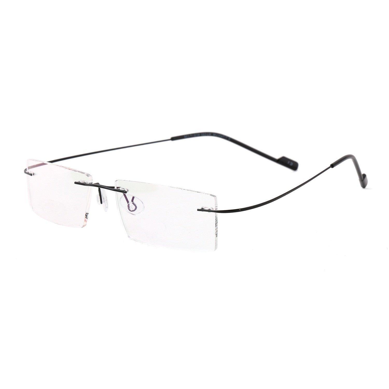 5e2bf27d03 Royal Son Rimless Rectangular Spectacle Frame For Men And Women  (RS04900ER