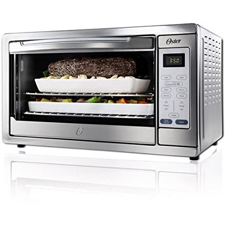Amazon new extra large stainless steel kitchen contertop new extra large stainless steel kitchen contertop convection toaster oven publicscrutiny Images