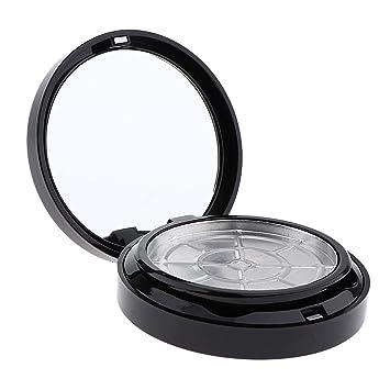 ccc6b6781a57 Amazon.com : Fityle Empty Jar Pot Make Up Pressed Powder Cosmetic ...