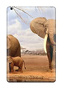 lintao diy DPatrick Case Cover For Ipad Mini/mini 2 - Retailer Packaging Are We There Yet Elephants Protective Case